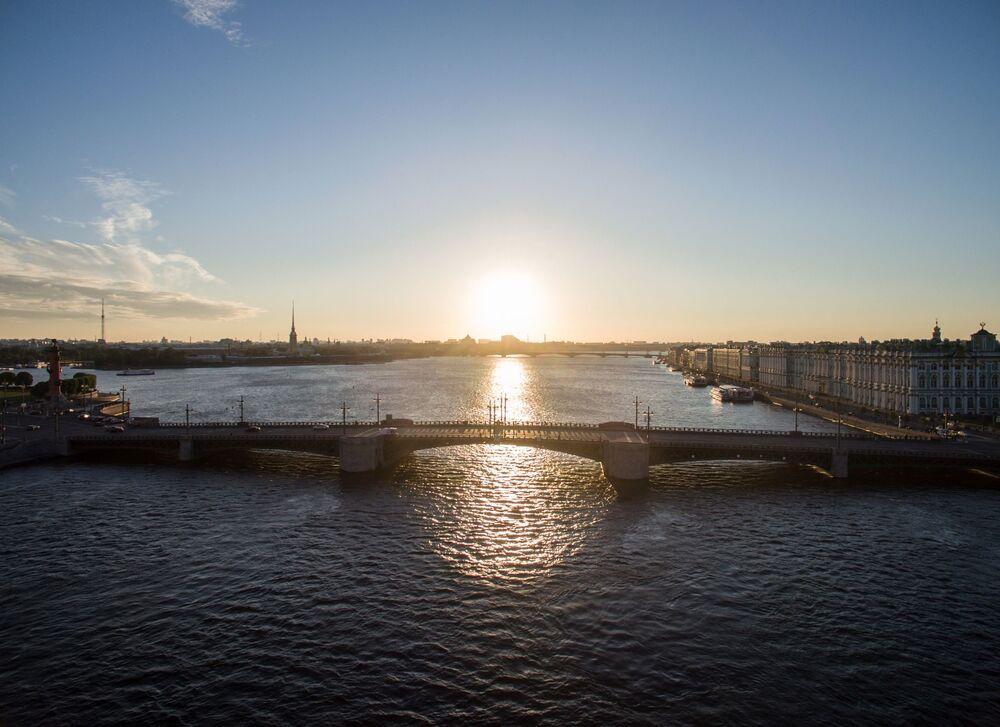 Most Dworcowy w Petersburgu