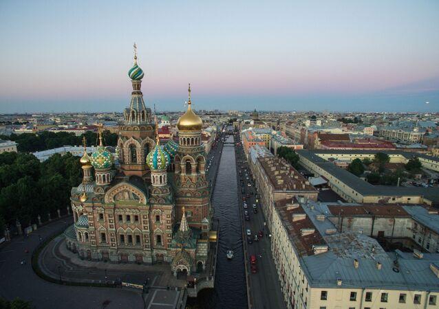 Sobór Zmartwychwstania Pańskiego w Petersburgu