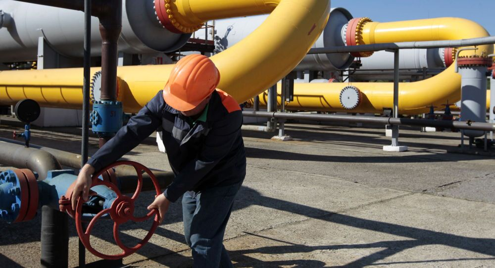 Magazyn gazu na Ukrainie