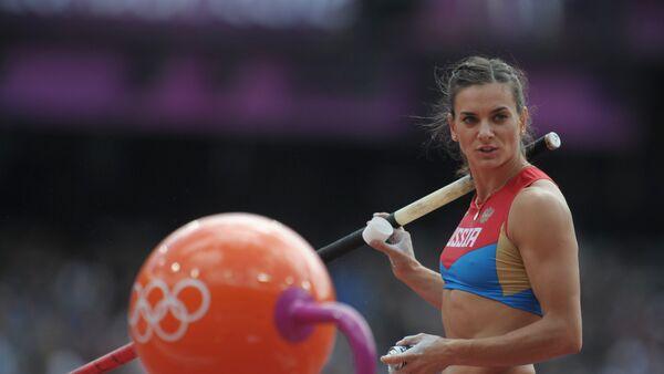 Jelena Isinbajewa. Igrzyska Olimpijskie 2012. - Sputnik Polska