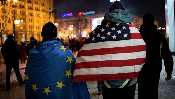 Kryzys na Ukrainie - Sputnik Polska