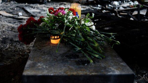 Rocznica pożaru w Domie Związków Zawodowych w Odessie - Sputnik Polska