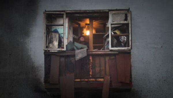 Konflikt na Ukrainie. Donieck - Sputnik Polska