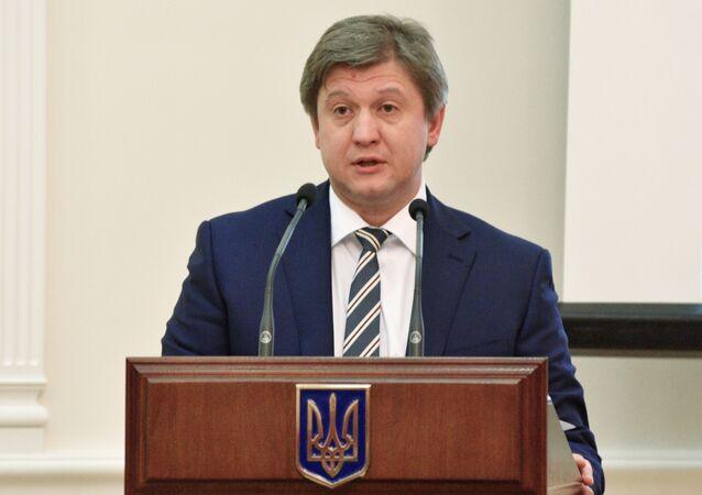 Szef Centrum Reformy Obronnej Ukrainy Aleksander Daniluk