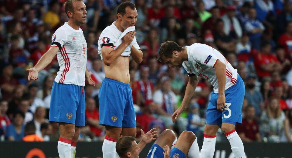 Reprezentacja Rosji na Euro 2016