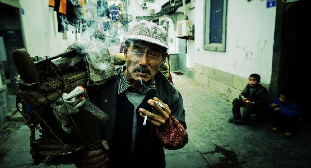 Chiński palacz
