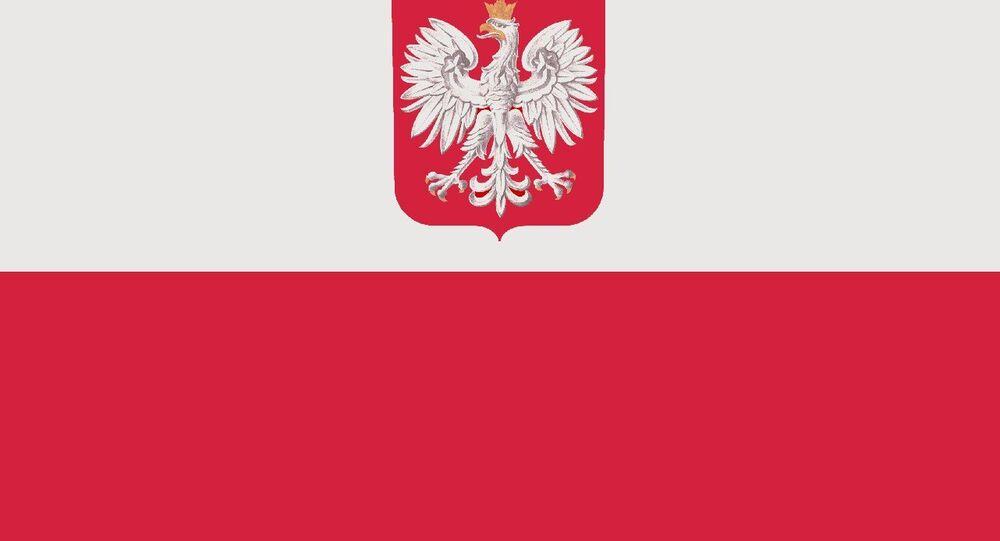 Flaga Polski.