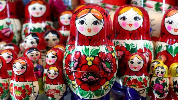 Rosyjskie matrioszki - Sputnik Polska