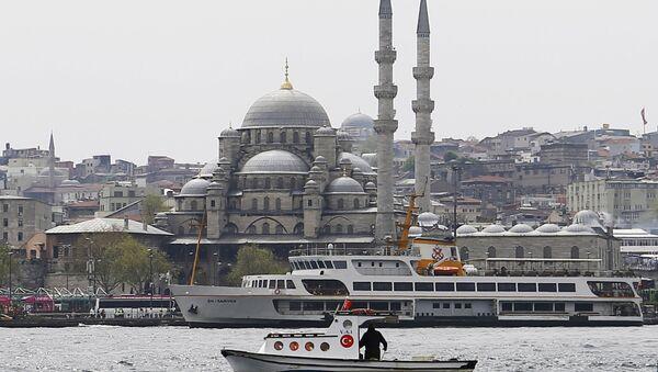 Widok na Nowy Meczet w Stambule - Sputnik Polska