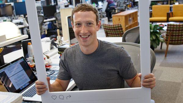 Mark Zuckerberg - Sputnik Polska