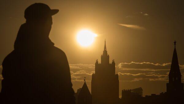 Przechodzeń w Moskwie - Sputnik Polska