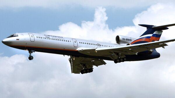 Samolot Tu-154M - Sputnik Polska