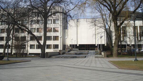 Siedziba litewskiego rządu w Wilnie - Sputnik Polska