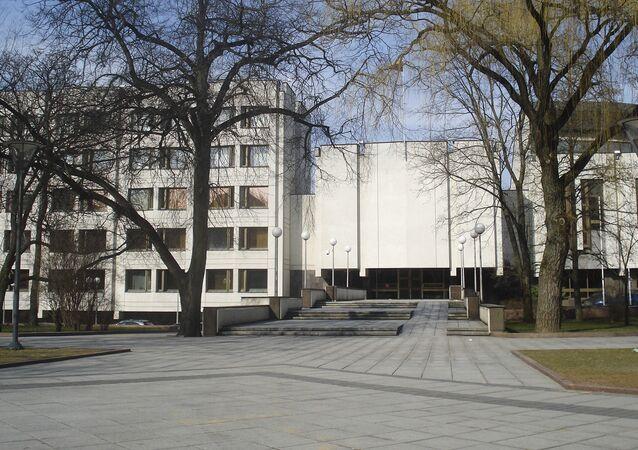 Siedziba litewskiego rządu w Wilnie