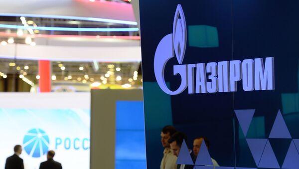 Pawilon Gazpromu na 20. Międzynarodowym Forum Ekonomicznym w Petersburgu - Sputnik Polska