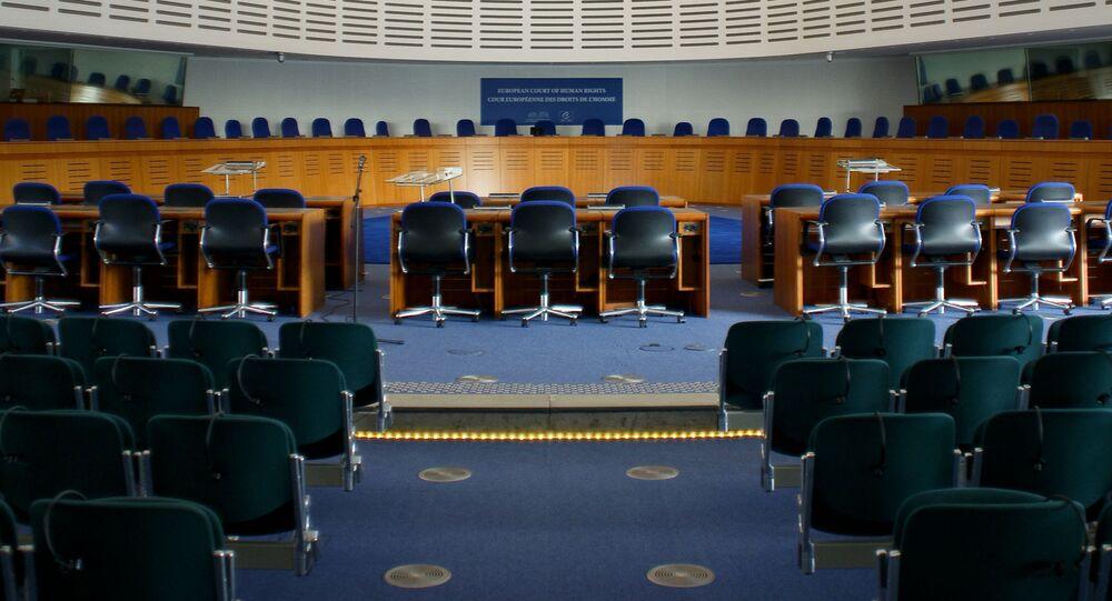 Sala powiedzeń Europejskiego Trybunału Praw Człowieka
