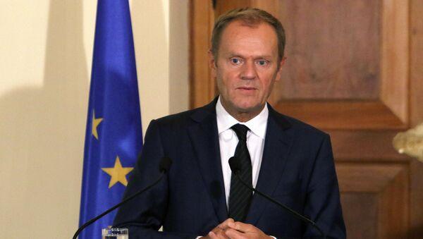 Председатель Европейского совета Дональд Туск - Sputnik Polska