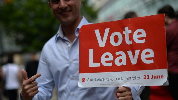 Referendum ws. członkostwa Wielkiej Brytanii w UE. Brexit. - Sputnik Polska
