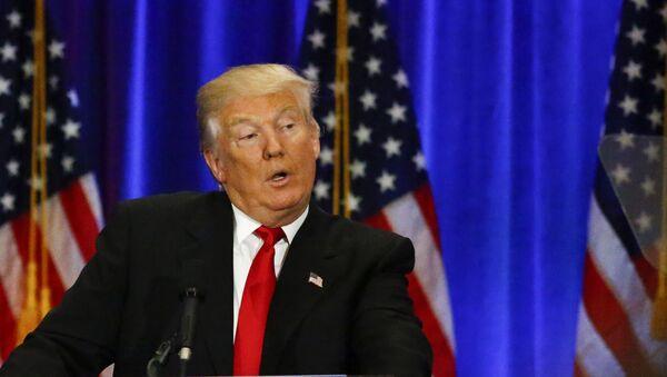 Republikański kandydat w wyścigu do Białego Domu Donald Trump - Sputnik Polska