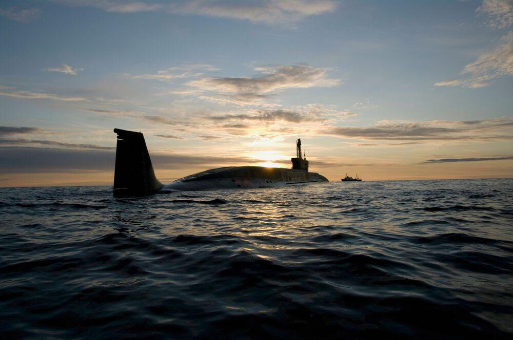 """Atomowy okręt podwodny projektu 955 Borei """"Jurij Dołgorukij"""""""