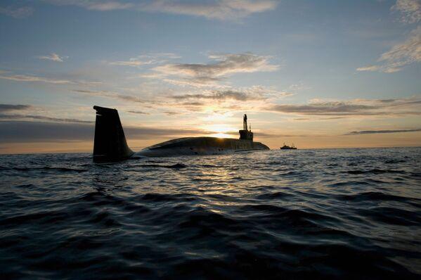 """Atomowy okręt podwodny projektu 955 Borej """"Jurij Dołgorukij"""" - Sputnik Polska"""
