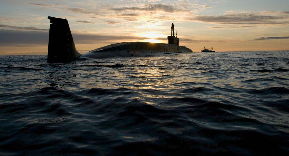 """Atomowy okręt podwodny projektu 955 Borej """"Jurij Dołgorukij"""""""