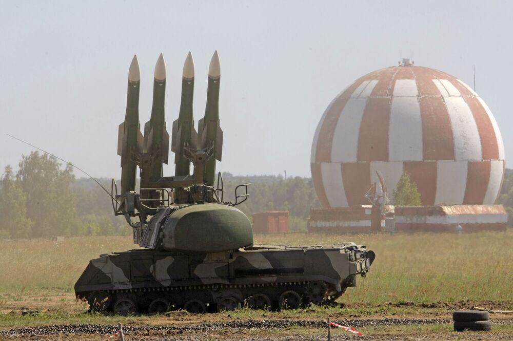 Kompleks rakietowo-zenitowy BUK-M2 w Żukowsku