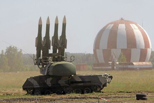 Kompleks rakietowo-zenitowy BUK-M2 w Żukowsku - Sputnik Polska