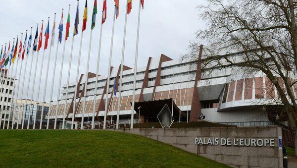 Pałac Europy w Strasburgu, gdzie odbywają się sesje ZPRE - Sputnik Polska