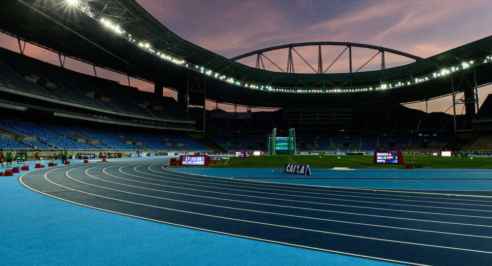 Stadion Olimpijski w Rio de Janeiro, Brazylia
