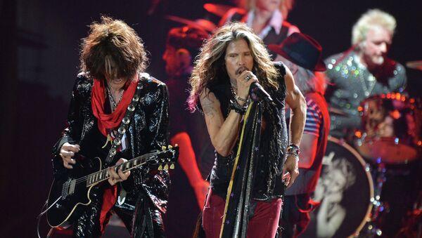 Aerosmith  na koncercie w Moskwie - Sputnik Polska