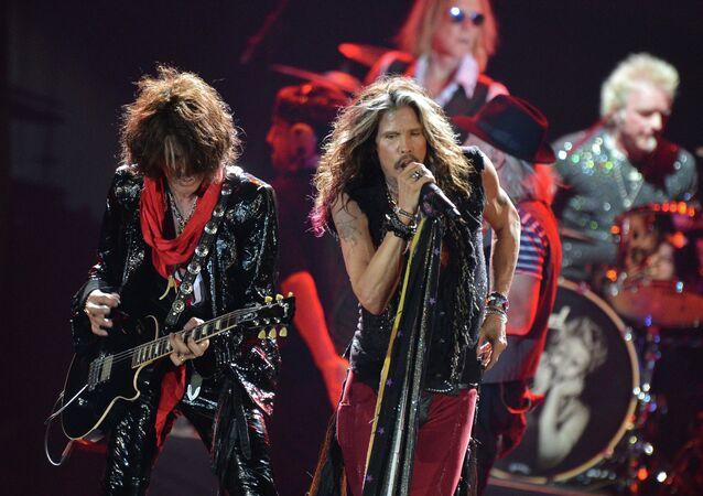 Aerosmith  na koncercie w Moskwie
