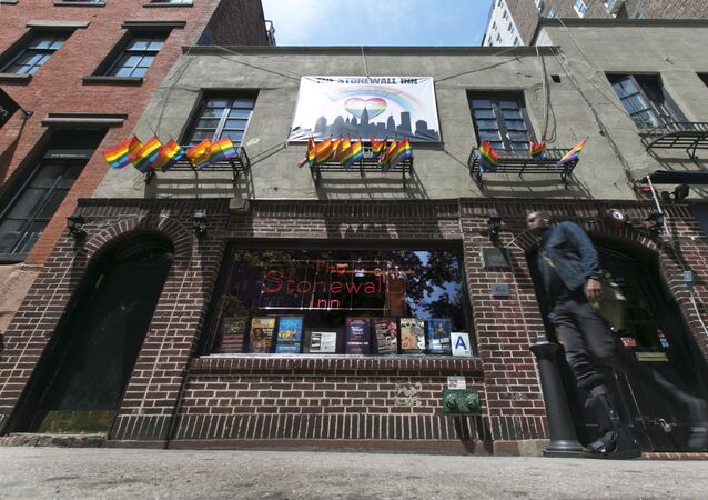 Klub gejowski The Stonewall Inn na Manhattanie
