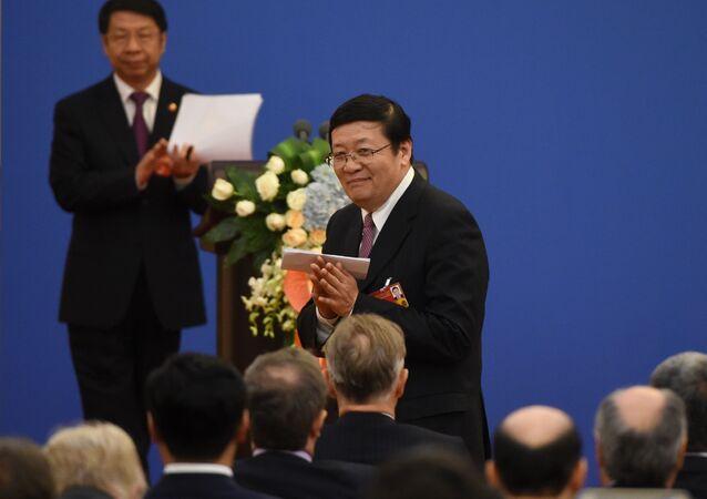 Chiński minister finansów Lou Jiwei