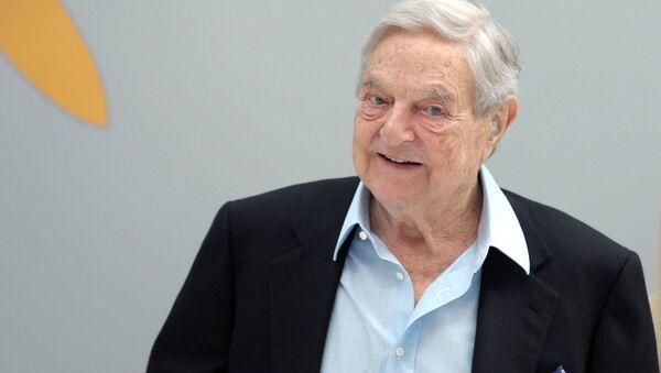 George Soros w Paryżu - Sputnik Polska