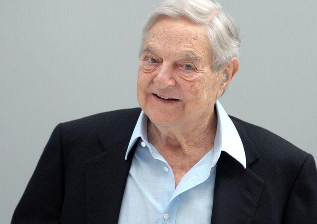 George Soros w Paryżu