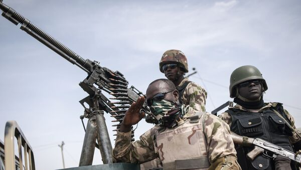 Nigeryjscy żołnierze - Sputnik Polska