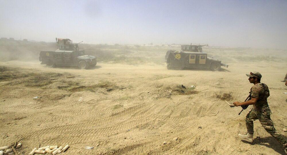 Ofensywa irackiej armii na Falludżę