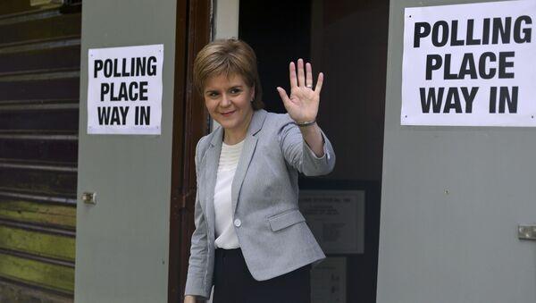 Premier Szkocji Nicola Sturgeon - Sputnik Polska