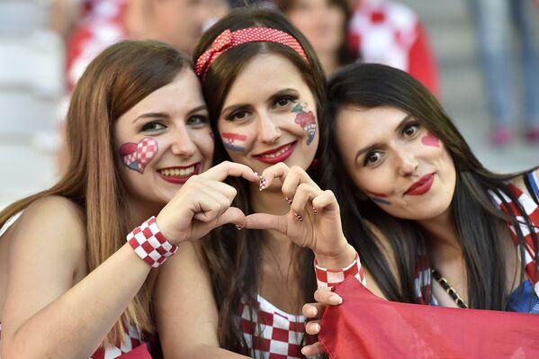 Kibicki reprezentacji Chorwacji na Euro 2016 - Sputnik Polska
