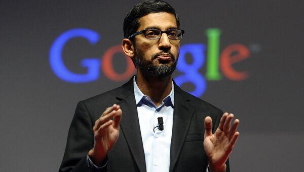 Dyrektor generalny firmy Google Sundar Pichai - Sputnik Polska