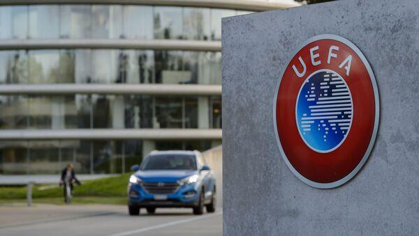 Siedzibie UEFA w Nyon - Sputnik Polska