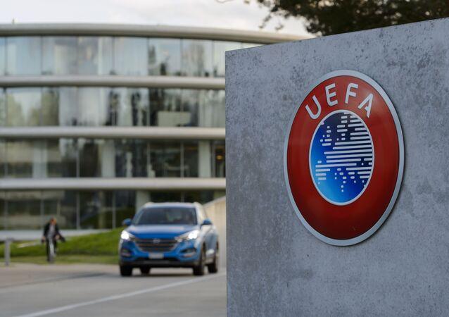 Siedzibie UEFA w Nyon