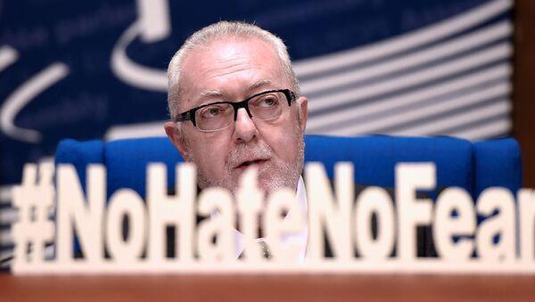 Przewodniczący Zgromadzenia Parlamentarnego Rady Europy (PACE) Pedro Agramunt - Sputnik Polska