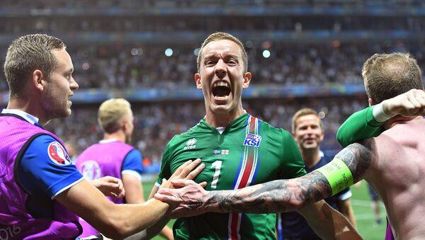 Reprezentacja Islandii na Euro 2016. - Sputnik Polska