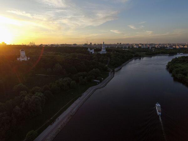 Dawna rezydencja wielkich książąt moskiewskich, a następnie carów w Kołomienskoje - Sputnik Polska