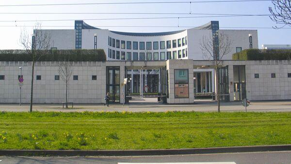 Budynek Sądu Najwyższego i Prokuratury Generalnej w Karlsruhe. Niemcy. - Sputnik Polska