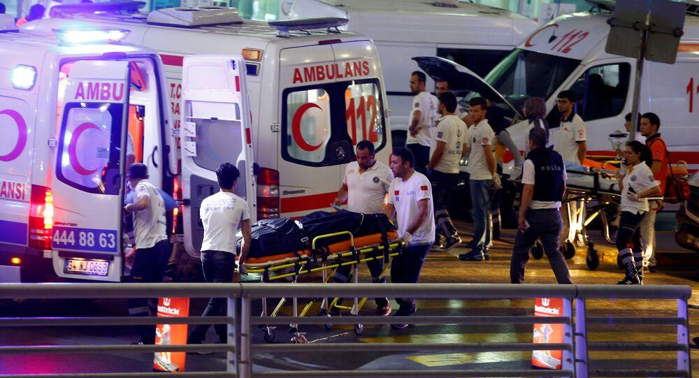 Atak terorystyczny w Stambule