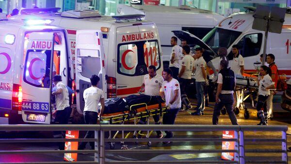 Atak terorystyczny w Stambule - Sputnik Polska
