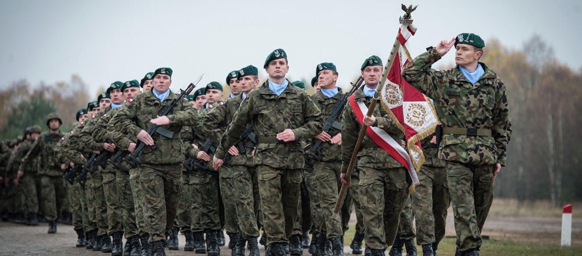 Polscy żołnierze w składzie sił szybkiego reagowania NATO - Sputnik Polska, 1920, 02.01.2021